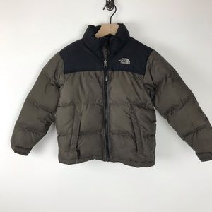 The North Face boys 7/8 jacket with down filling